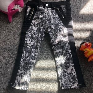 🕶nwot 7forallmankind floral jeans